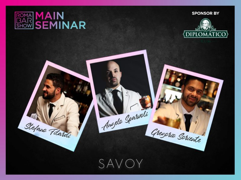 AUDITORIUM: SEMINAR CLASSICS INNOVATION (SAVOY AMERICAN BAR)